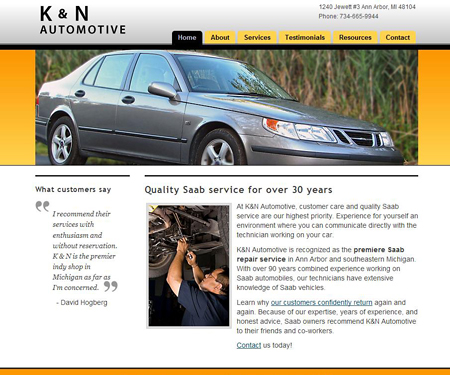 K and N Automotive