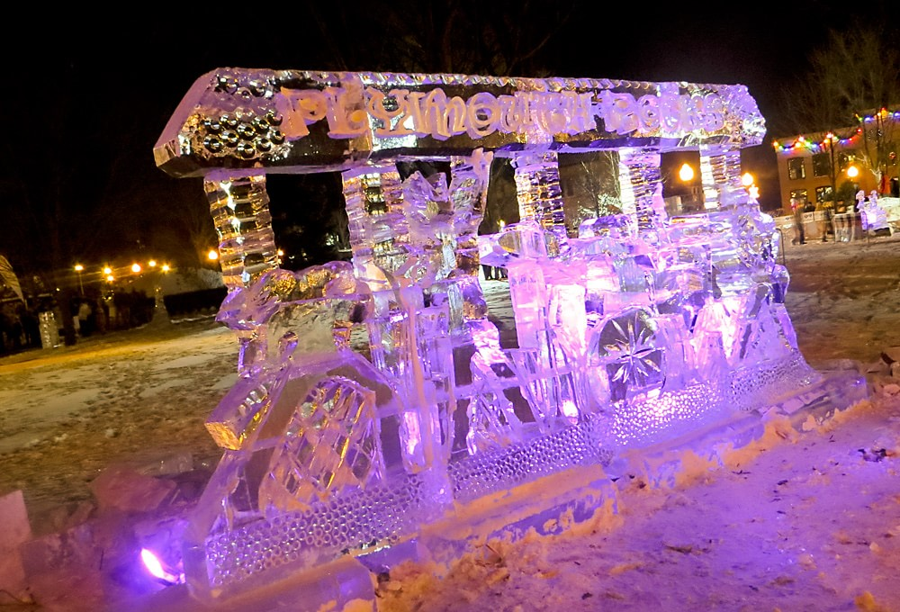 Photo Of The Week Plymouth Ice Festival 2015
