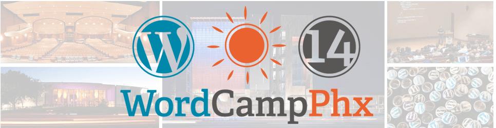 WordCamp Phoenix logo