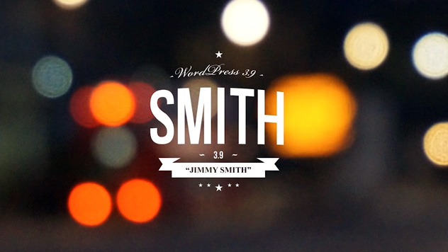 WordPress 3.9 Version named for Jimmy Smith